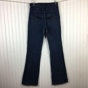 NYDJ Boot Cut Jeans Medium Wash Stretch Denim